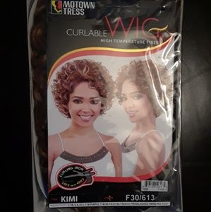 Motown Tress KIMI Heat Safe Synthetic Curly Wig